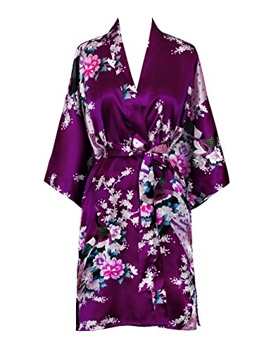 French Floral Robe - 7
