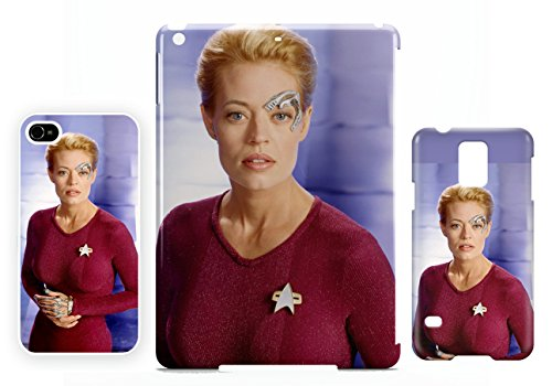 Seven of nine Jeri Ryan iPhone 4 / 4S cellulaire cas coque de téléphone cas, couverture de téléphone portable