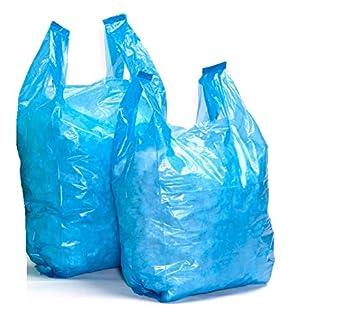 100/% biodegradabili Sacchetti di plastica ecologici 33 x 48,3 x 58,4 cm Sabco colore: Bianco 1