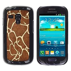 "For Samsung Galaxy S3 MINI ( NOT for regular S3 , S-type Modelo de la jirafa"" - Arte & diseño plástico duro Fundas Cover Cubre Hard Case Cover"