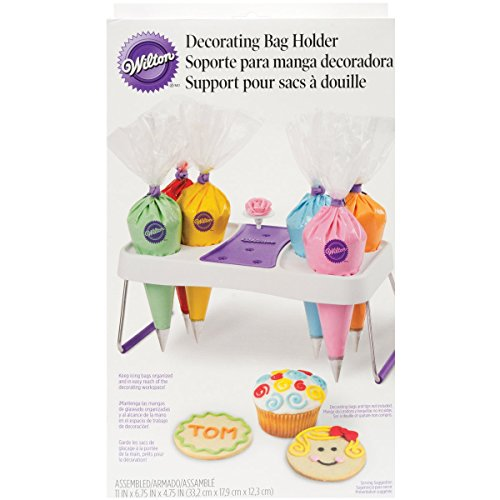 Wilton Cake Decorating Icing Bag Stand, 6-Cavity -
