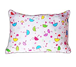 Toddler PillowCase 13 x 18 100 Pure Mulberry Silk 19 Momme Skin Friendly Fabric Good Skin Care Baby Pillow Cases  Cute Pink