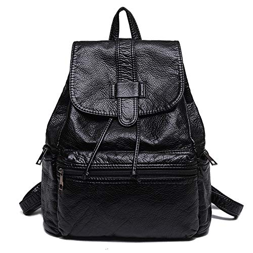 Small Damesrugzak Fashion Casual Simple Soft Wild Travel Leather rrYq1z