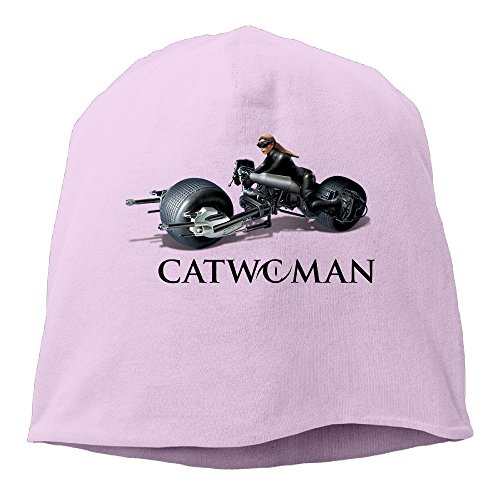 YUVIA Catwoman Men's&Women's Patch Beanie RowingPink Cap Hat For Autumn And Winter