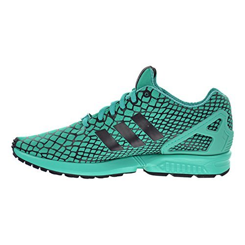 new concept 2154d 67a55 Adidas ZX Flux Techfit Men s Shoes Core Black Shock Mint s79065 (10 ...