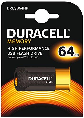 Duracell High Performance Capless USB 3.0 Flash Drive - Copper/Black ()