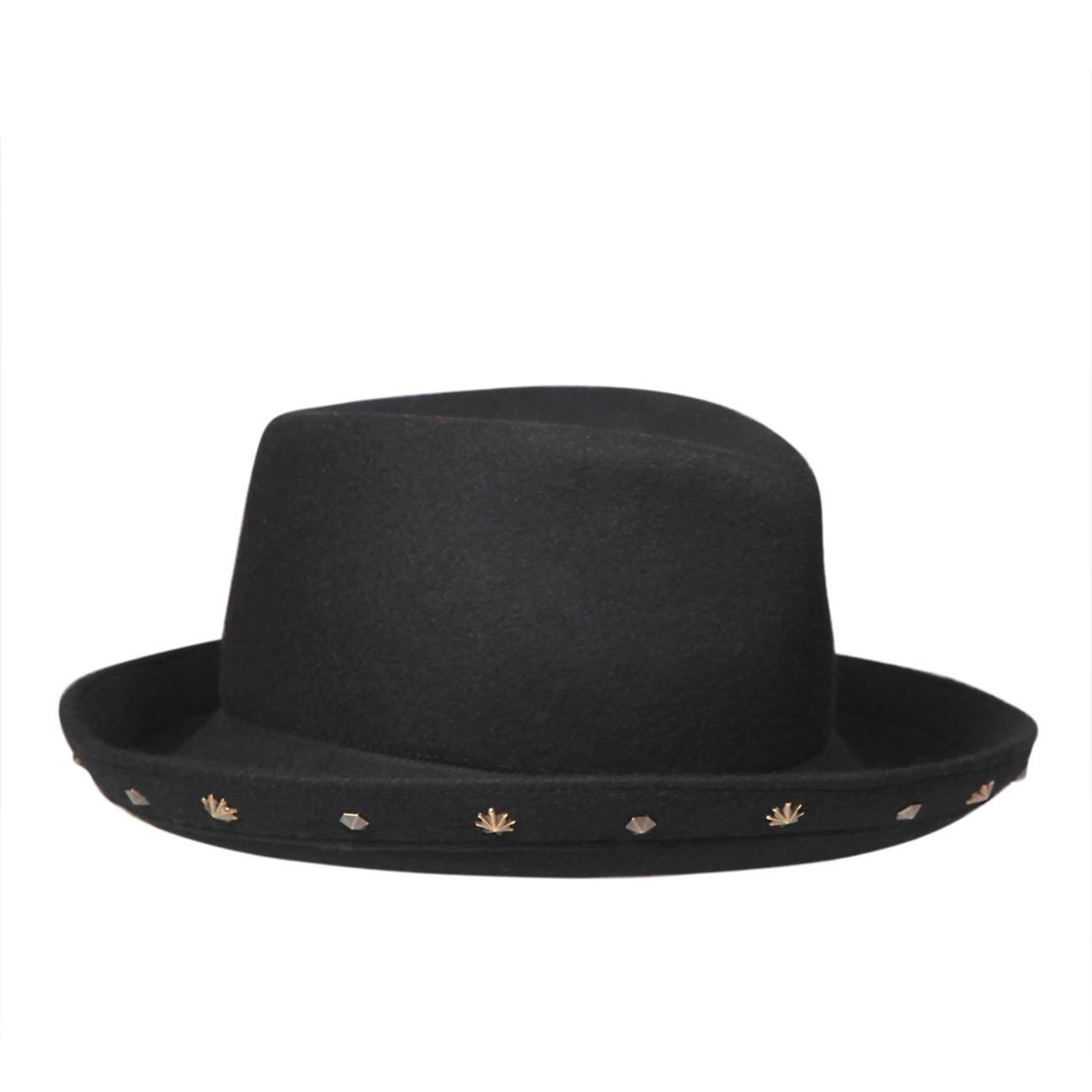 Eric Javits Luxury Fashion Designer Women's Headwear Hat - Ellyn - Black