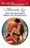 The Billionaire's Bride of Innocence, Miranda Lee, 0373128681