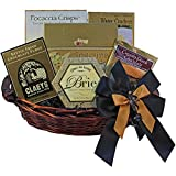 Classic Gourmet Food and Snack Gift Basket, Small  (Candy Option)