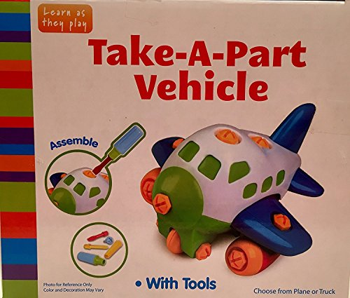 [Take-A-Part Vehicle with Tools - Plane] (Homemade Mickey Mouse Halloween Costumes)