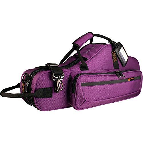 Protec Alto Saxophone Contoured PRO PAC Case with Flute Pocket, Purple, Model PB304CTPR (Trumpet Protec Contoured)