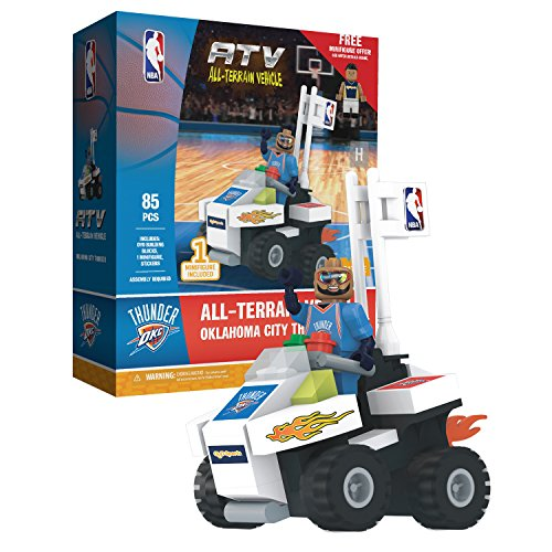 OYO Sports NBA 4 Wheel ATV with Super Fan Minifigure Oklahoma City Thunder by OYO