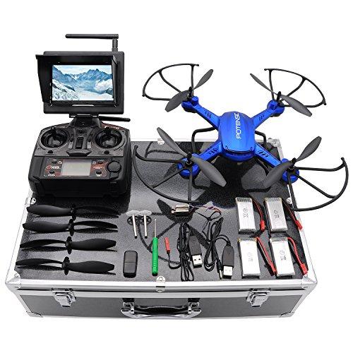Drone with HD Camera, Potensic F181DH RC Drone Qua…