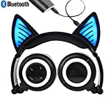 Best Blue Microphones Macbooks - Bluetooth MIC Chargeable Wireless Hearsets Cat Ear Foldable Review