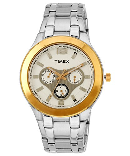 Timex-E-Class-Analog-White-Dial-Mens-Watch-F902