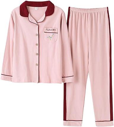MEIXIA Vestido De Pijama Camisón Pijamas De Snightshirt Algodón De ...