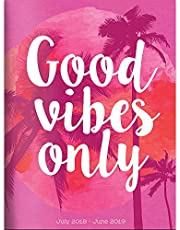Good Vibes Monthly 2018-2019 Planner