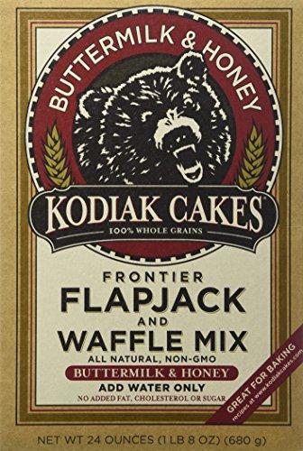 Baker Mills Kodiak Cakes Flapjack and Waffle Mix - Buttermilk & Honey 24 oz Box
