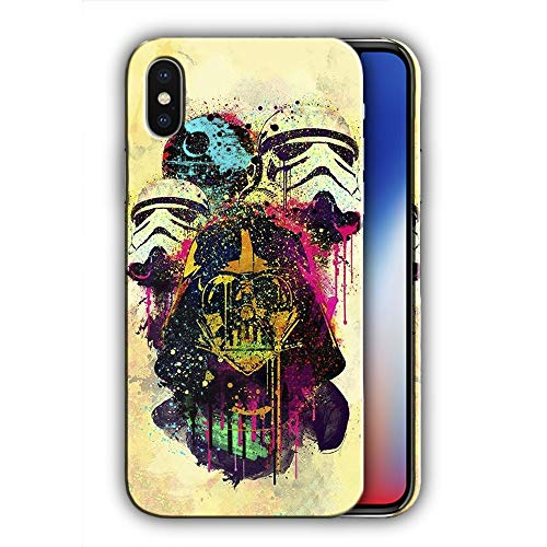 Hard Case Cover with Star Wars Design Compatible with iPhone XS Max (sw106)]()