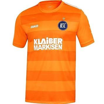 Jako Karlsruher SC Trikot Auswärts kurzarm Jersey Herren//Kinder Fan Trikots