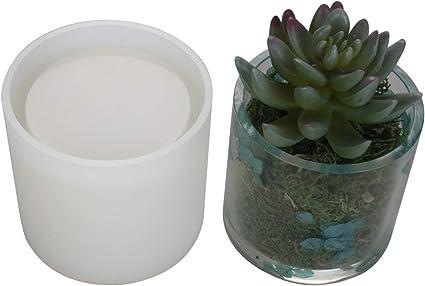 Internal Depth 2.95 Cylinder Silicone Molds Internal Diameter 2.95 Pen Holder molds Planter Pot Mold DIY Flower Pot Molds Big DIY Cylinder Resin Mold
