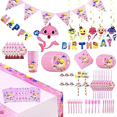 Amazon.com: 142 piezas de decoración para fiesta de ...