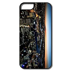 IPhone 5/5S Shell, Sydney Night Lights Case For IPhone 5/5S - White/black Hard Plastic
