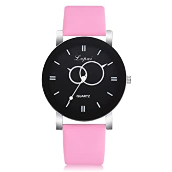For Women Festiday Lovely Colorful Leather Strap Popular Casual Watch Clearance Female Analog Wristwatch On Sale Watches Perfect Ladies Birthday Gifts