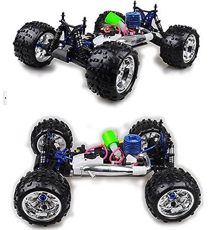 Amazon.com : 1/8 Carro De Controle Remoto A Gasolina Remote Control Cars Radio Control Remote Control Gasoline Car RC Cars HW1033 : Baby