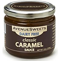 AvenueSweets - Handcrafted Dairy Free Vegan Caramel Sauce - 1 x 12 oz Jar - Classic