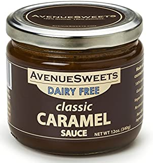 product image for AvenueSweets - Handcrafted Dairy Free Vegan Caramel Sauce - 1 x 12 oz Jar - Classic