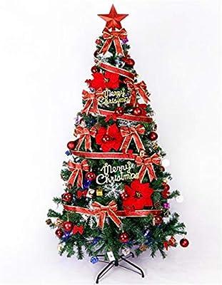 16320189e79 STEAM PANDA Árbol de Navidad Artificial 1.8 M Gran árbol de Navidad de Lujo  Árbol Decoraciones de Bolas Adornos de plástico Inastillables