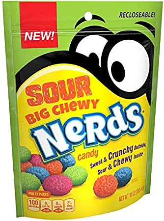 Nerds Big Chewy Sour Candy, 10 onzas.2 Pack (10 Ounces): Amazon.es: Deportes y aire libre