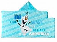 Disney Frozen Blue Color Hooded Towel for Kids (Olaf)