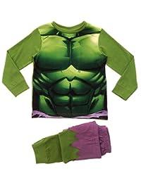 Lora Dora Little Boys' Marvel Avengers Inc Ible Hulk Pyjamas Pj Set