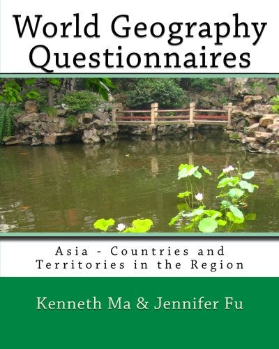World Geography Questionnaires: Asia - Countries and Territories in the Region