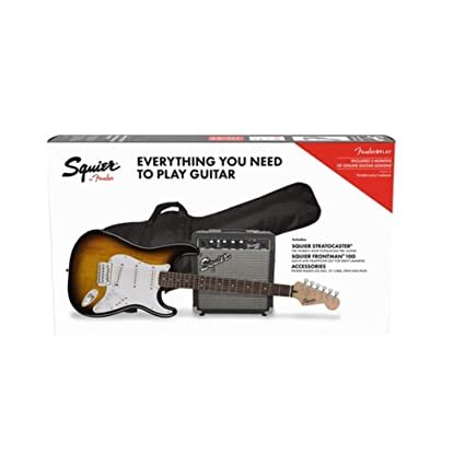 Plegable Para perros y SSS Pack 10 G BSB kit guitarra eléctrica Brown Sunburst con amplificador
