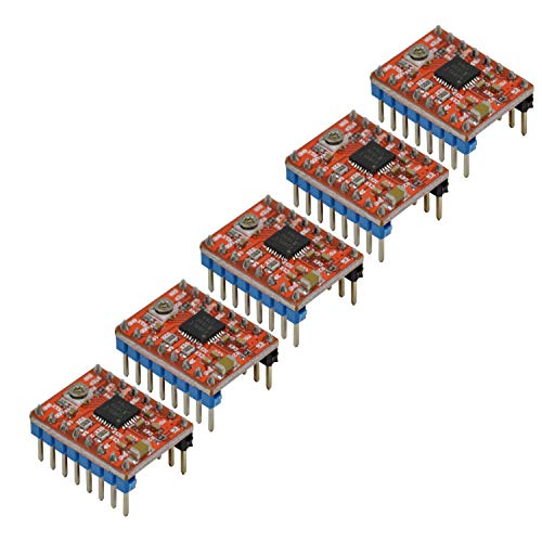 Geeetech GT2560 V3.0 Control Board Kit with 5 Pcs A4988 Stepper Motor Drivers, Supporting Filament Runout Detector and Auto Leveling Sensor, Compatible with Geeetech A10M, A20M Mix-Color Printers. by Geeetech (Image #3)