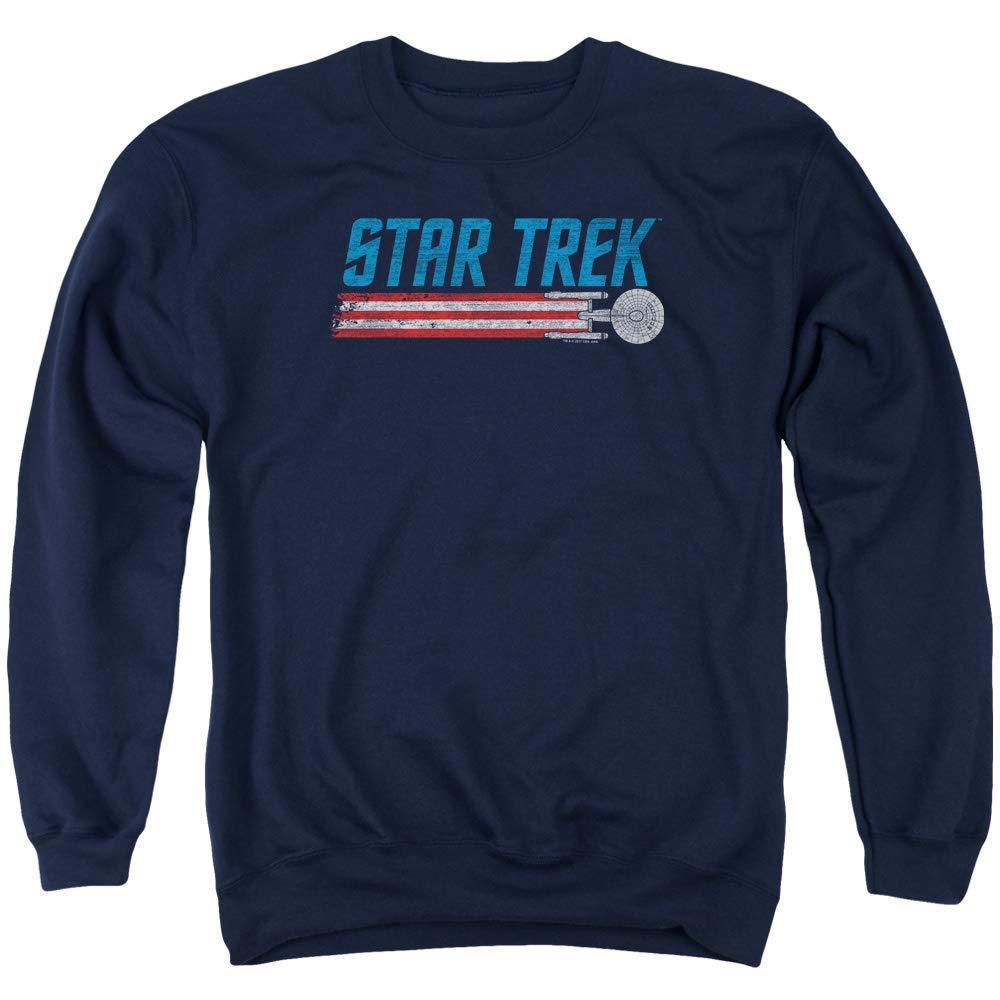Star Trek - - Americana Enterprise Sweater für Männer