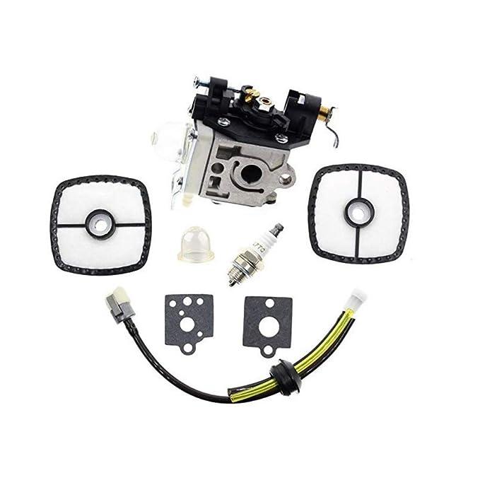 Carburador de motosierra, filtro de aire portátil, bujía, línea de ...