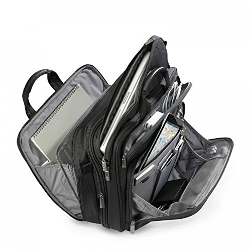 Briggs & Riley @ Work Luggage Large Expandable Brief, Black by Briggs & Riley (Image #4)