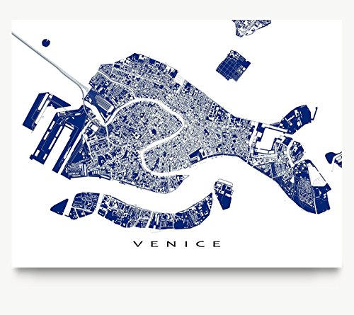 poster of venice italy