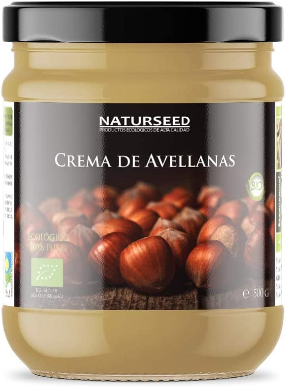 Naturseed - Crema De Avellanas Integral Ecologica - Bio 100 ...