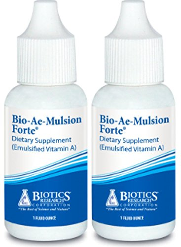 Biotics Research Bio Ae Mulsion Forte 1oz (1oz (Pack of 2))