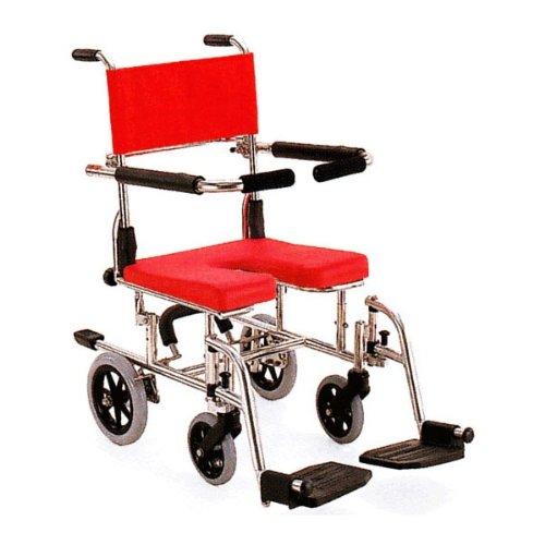 カワムラサイクル シャワー用車いす 座面高さ調整式 家庭在宅介護用◆KS10(クリありシート)◆ B008DP06E4