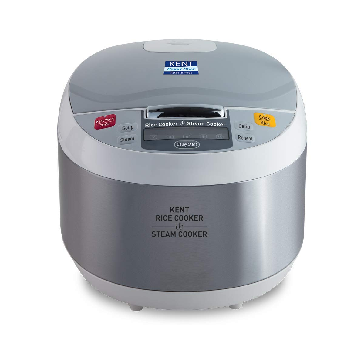 KENT Rice and Steam Cooker 860-Watt at Rs.3991