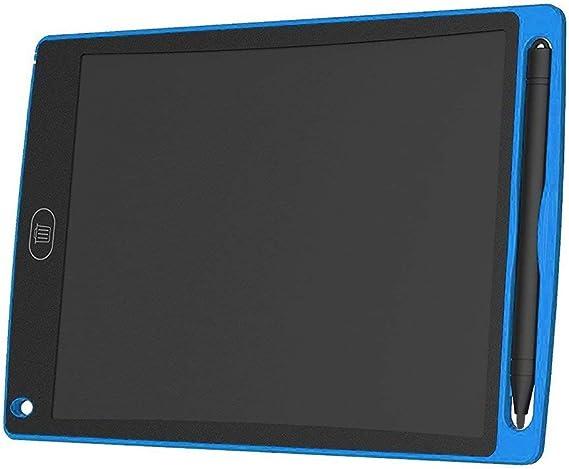 QinKingstore 8.5インチLCDライティングタブレット超明るい電子ライティング落書きパッド描画ボードホームオフィススクールライティングボードブルー