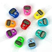 Fortunext High Quality Tally Counting Digital Machine Finger Watch (Pack of 10)