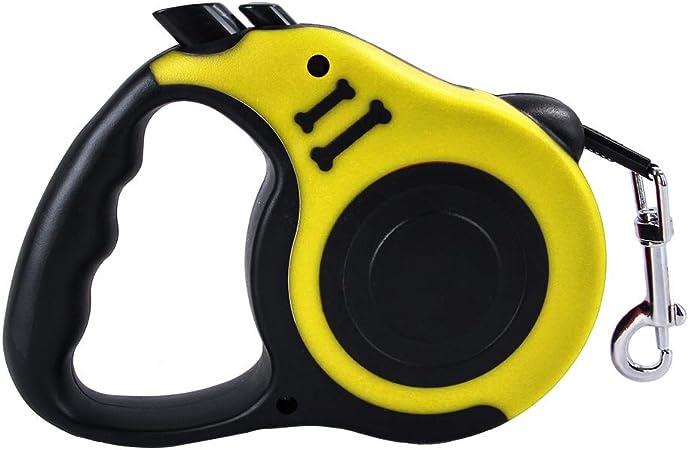 Athyior Cables retr/áctiles para Perros Gratis Extensible Autom/ático Retr/áctil Correa de Perro Duradera para Perros de Raza Mediana Grande de hasta 15 kg