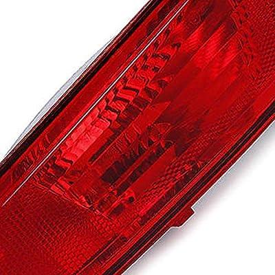 laiyoulaibao Passenger Side Rear Bumper Reflector Light, Red Lens Warning Lamp for Evoque 2011-2020, 1 Pc Right Side, OEM LR025148: Automotive
